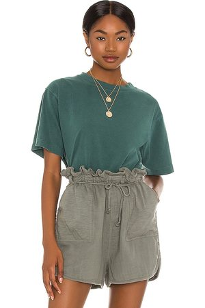 Richer Poorer Relaxed Crop Tee in .