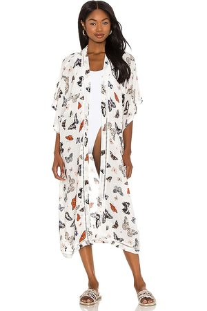 Plush Butterfly Kimono in .