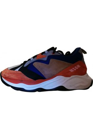 Msgm Attack Cloth Trainers for Men