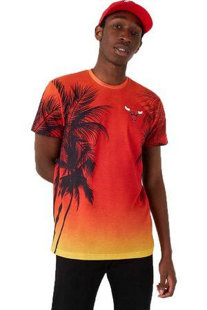 New Era Men T-shirts - Summer City Aop Chicago Bulls L
