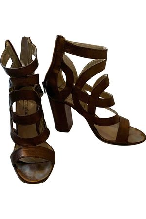 FORME D'EXPRESSION \N Leather Sandals for Women