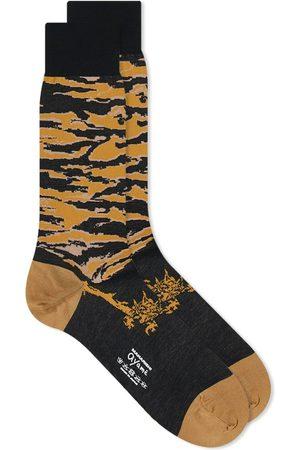 Ayamé Socks X Maharishi Jacquard Tiger Stripe Sock