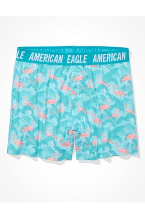 American Eagle Outfitters Men Boxer Shorts - O Flamingos Ultra Soft Boxer Short Men's XS