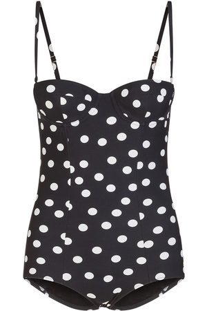 Dolce & Gabbana Polka dot pattern swimsuit