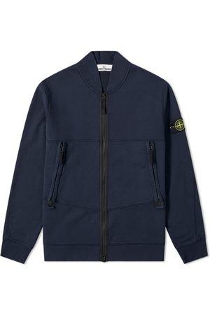 Stone Island Men Bomber Jackets - Garment Dyed Bomber Jersey Jacket