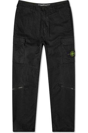 Stone Island Men Cargo Pants - Brushed Cotton Cargo Pant