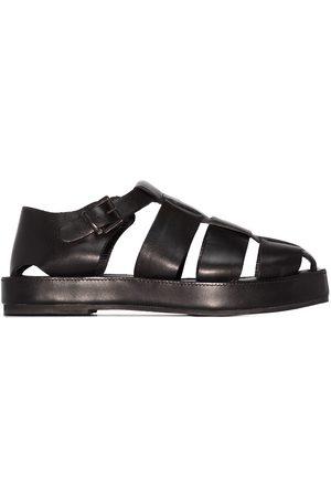 St Agni Mary Jane flatform shoes