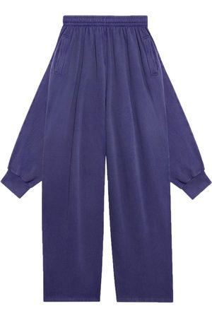 Balenciaga Sweatpants - Hybrid knotted fleece track pants