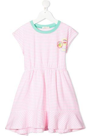 Billieblush Girls Casual Dresses - Stripe print dress
