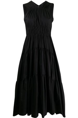 Proenza Schouler Women Midi Dresses - Mid-length tiered dress