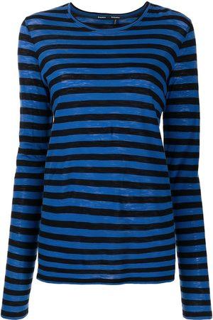Proenza Schouler Long-sleeved striped T-shirt