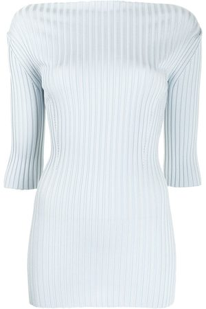 Proenza Schouler Ribbed knit boat-neck top