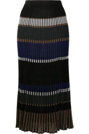 Proenza Schouler Horizontal-stripe knitted skirt
