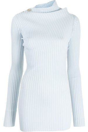 Proenza Schouler Women Tops - Ribbed-knit twisted top