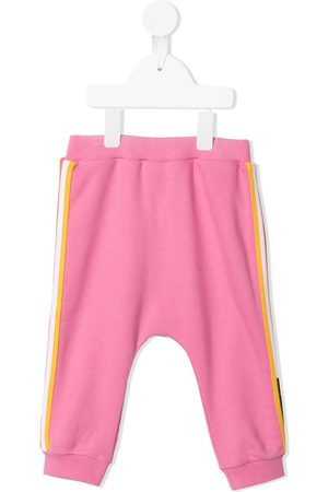 Fendi Sweatpants - Stripe-detail track pants
