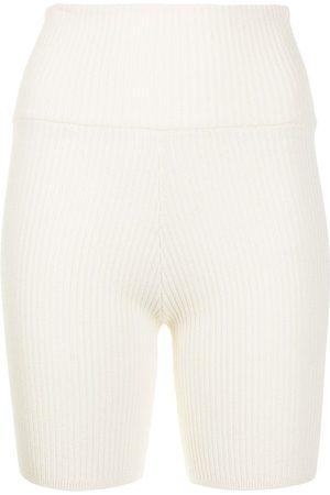Anna Quan Bobby rib-knit shorts