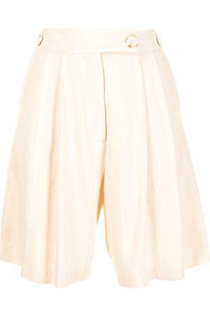 Anna Quan Vita pleated shorts - Neutrals