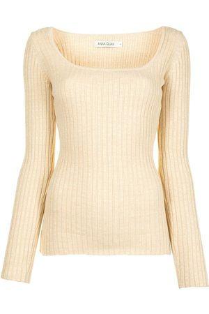 Anna Quan Mia rib-knit top