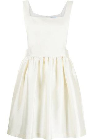 Macgraw Sleeveless flared mini dress