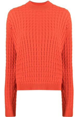 SARA LANZI Cable-knit jumper