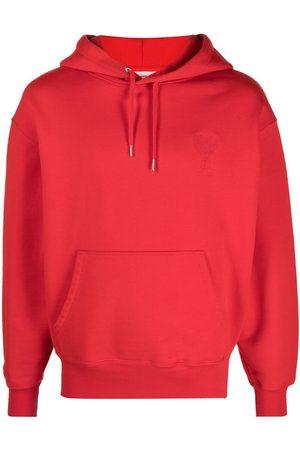 Ami Men Hoodies - Embroidered logo hoodie