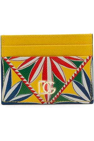 Dolce & Gabbana Tile-print cardholder