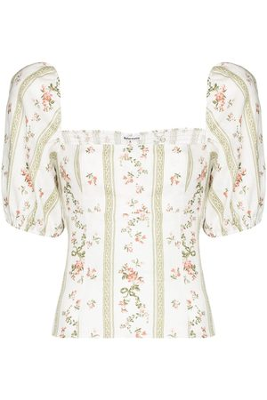Reformation Arancini floral-print blouse