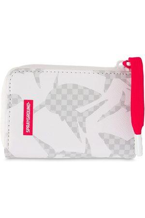 Sprayground Men Wallets - Camo Shark Pattern Wallet