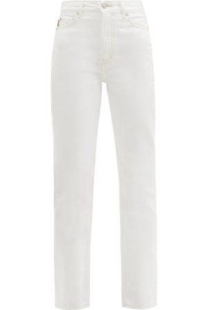 Ganni Women High Waisted - High-rise Straight-leg Jeans - Womens