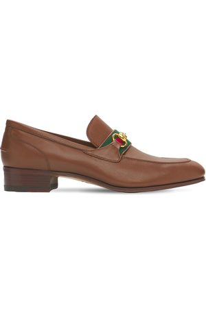 Gucci Men Loafers - Horsebit Leather Loafers