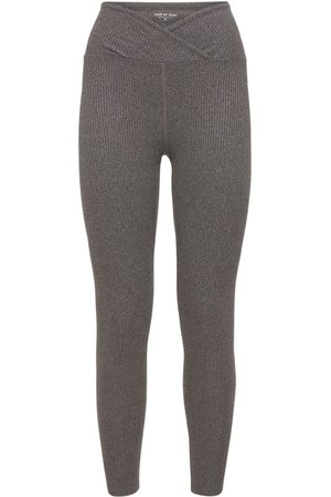 YEAR OF OURS Women Sweats - Veronica High Waist Ribbed Leggings