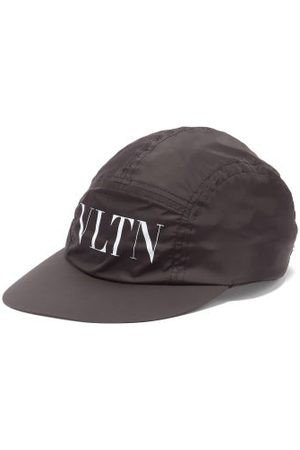 VALENTINO GARAVANI Men Caps - Vltn-logo Canvas Baseball Cap - Mens
