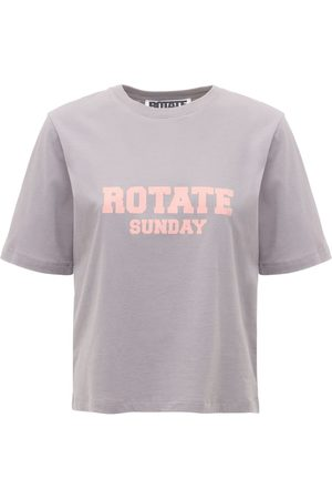 ROTATE Aster Sunday Capsule Logo Jersey T-shirt