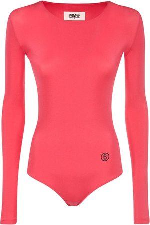 MM6 MAISON MARGIELA Women Bodies - Logo Tech Bodysuit