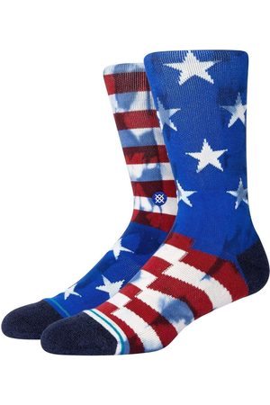 Stance Banner Combed Cotton Blend Socks