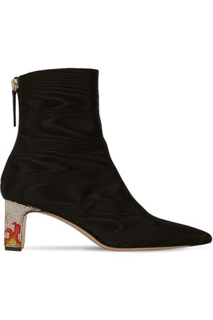 IINDACO 60mm Lete Grosgrain Ankle Boots