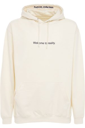 F.A.M.T. Welcome To Reality Cotton Blend Hoodie