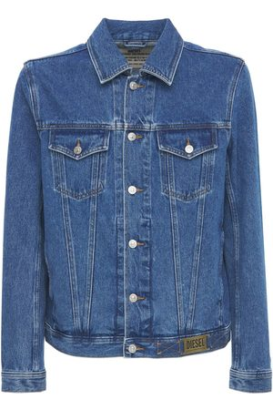 Diesel Men Denim Jackets - Cotton Denim Jacket