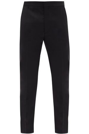 The Row Walker Wool-twill Straight-leg Suit Trousers - Mens