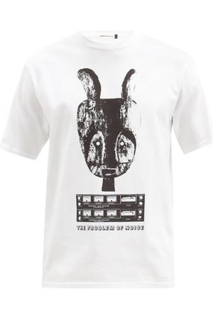 Undercover Noise-print Cotton-jersey T-shirt - Mens
