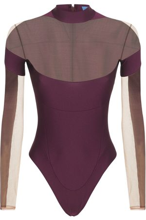 MUGLER Women Bodies - Lvr Exclusive Stretch Bodysuit