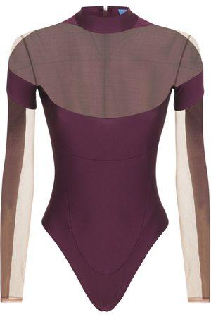 MUGLER Women Bodies - Lvr Exclusive Stretch Bodysuit