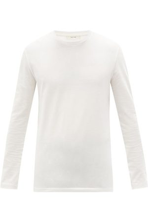 The Row Leon Cotton-jersey Long-sleeved T-shirt - Mens
