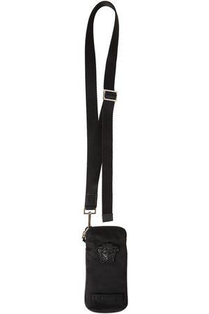 VERSACE Men Phones Cases - Leather Phone Case W/medusa