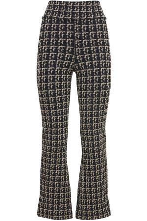 The Upside Women Pants - Bouclé Jacquard Zen Pants