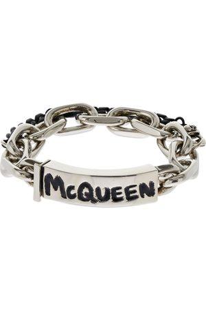 Alexander McQueen Men Bracelets - Mcqueen Graffiti Bracelet