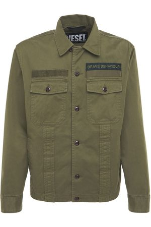 Diesel Men Jackets - Light Cotton Canvas Jacket