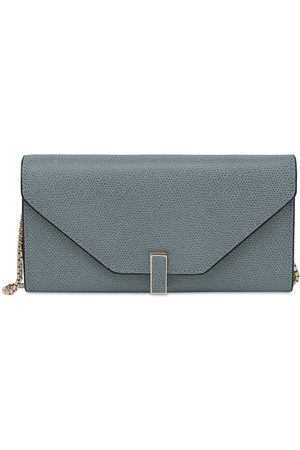 VALEXTRA Women Clutches - Leather Chain Wallet
