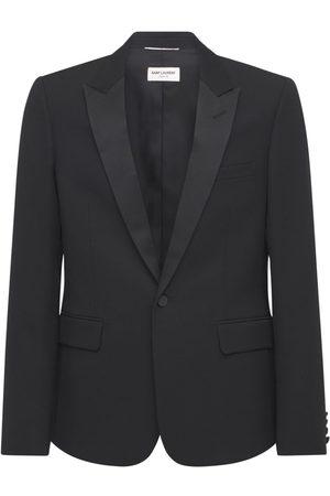Saint Laurent Smoking Virgin Wool Jacket