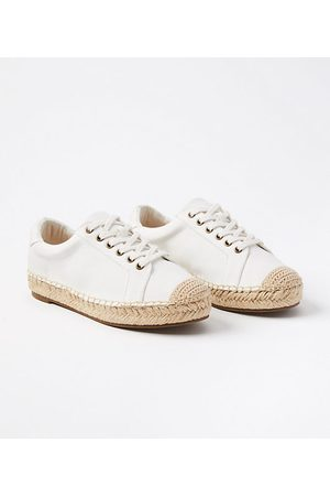 LOFT Espadrille Lace Up Sneakers